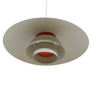 Vintage Poul Henningsen for Louis Poulsen PH 4/3 Pendant Light