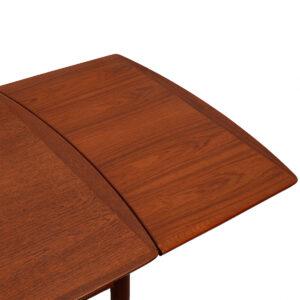 Povl Dineson Danish Modern Teak Expanding Dining Table