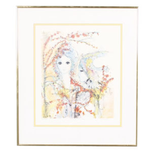 """Fleur de Lis"" Artwork"