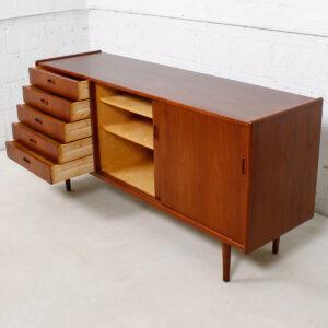 Arne Vodder 67″ Danish Modern Teak Sideboard