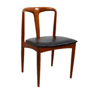 Set of 10 Johannes Andersen for Uldum Møbelfabrik Juliane Teak Dining Chairs