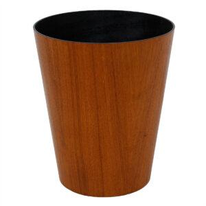 Small Danish Modern Teak Waste Basket