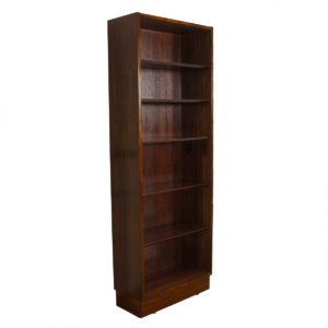Tall & Thin Danish Rosewood Bookcase