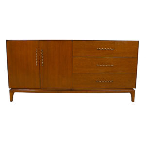 John Keal for Brown Saltman 'Thin Edge' 1950's Decorator Sideboard