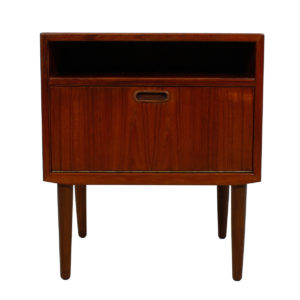 Teak Danish Modern Accent Table – Night Stand by Falster