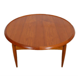 RARE Danish Teak Finn Juhl Style Reversible Coffee Table