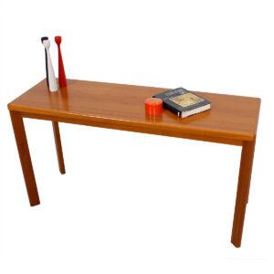 Danish Modern Vejle Stole Teak Console Table