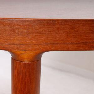 MOREDDI Danish Modern Teak Expanding Dining Table