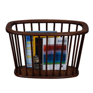 Arthur Umanoff – Modern Long Oval Magazine Rack