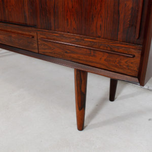 Danish Modern Rosewood Highboard