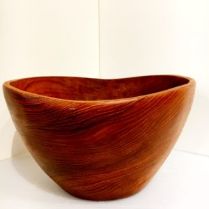 Free-form Teak Salad Bowl Set