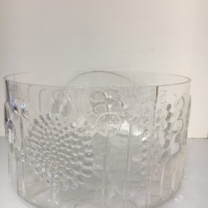 Large Glass Salad Bowl by Ittala, Finland