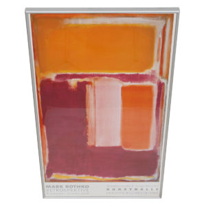 Rothko Retrospective Exhibition Poster