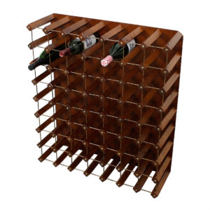 Large Vintage 56 Bottle Wine Rack / Storage