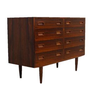 Stylish Danish Modern Rosewood Petite Dresser / Sideboard