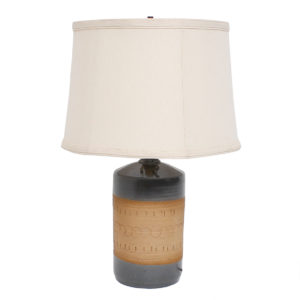 Danish Pottery Table Lamp