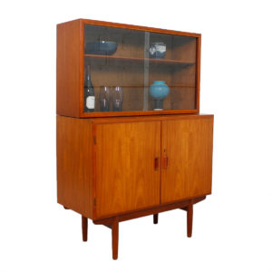 Borge Mogensen for Soborg, Danish Teak Locking Storage / Bar Cabinet