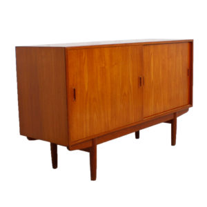 Borge Mogensen for Soborg, 59″ Danish Teak Sideboard