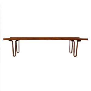 Edward Wormley for Dunbar 'Long John' Walnut Bench / Coffee Table