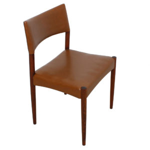 Set of 10 (2 Arm + 8 Side) Danish Rosewood Dining Chairs