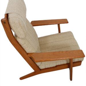 Hans Wegner GE 290 High Back Lounge Chair for GETAMA