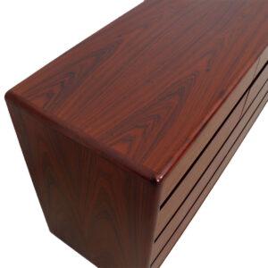 Danish Modern Rosewood 12 Drawer Dresser / Sideboard