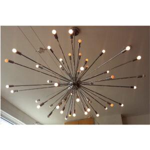 RARE Large Sputnik Hanging Chandelier