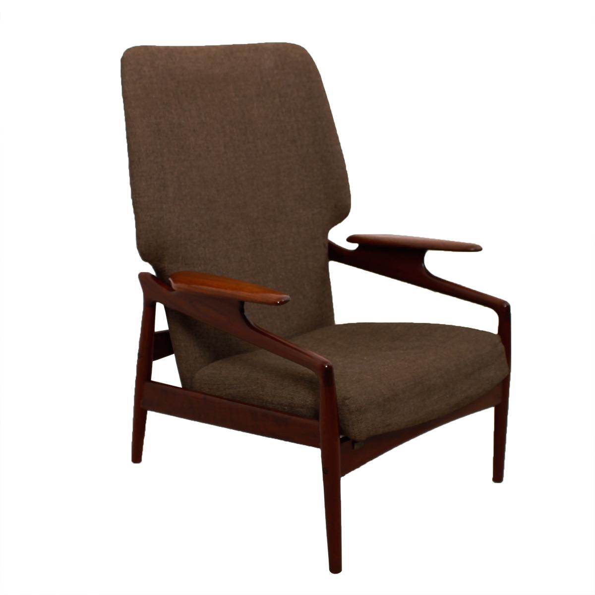 Danish Modern Teak Finn Juhl Reclining Wingback Chair  sc 1 st  Modern Mobler & Modern Mobler islam-shia.org