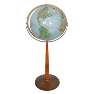 Vintage Standing Globe