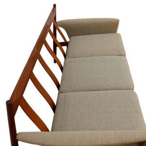 Danish Modern Grete Jalk for France & Sons Teak Sofa