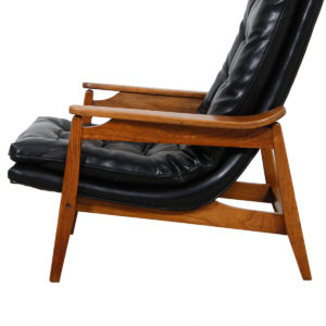 Milo Baughman MCM Lounge Chair & Matching Ottoman