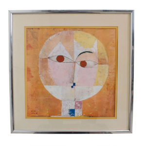 Print of a Portrait by Paul Klee