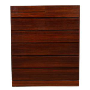 Vinde Danish Rosewood Tall Dresser / Organizer