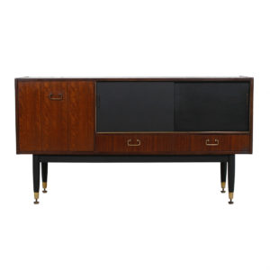 English G-Plan Mahogany Sideboard Bar Cabinet by E Gomme Ltd
