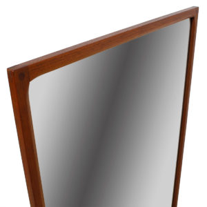 Large Aksel Kjersgaard Teak Mirror – Model No. 168