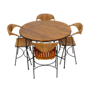 Umanoff for Raymor 50's Mid Century Dinette (table + 4 chairs) Set