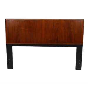 Walnut Mid-Century Modern Queen Headboard