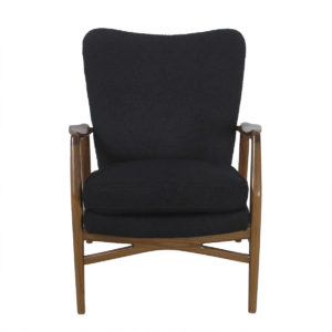 Rare Niels Jorgen Andersen Early 50's Danish Modern Wingback Chair