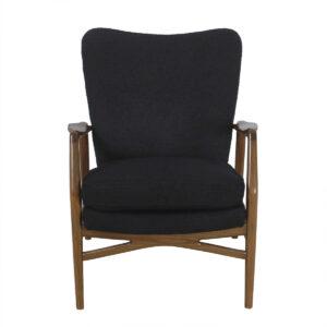 Very-Rare Niels Jorgen Andersen Early 50's Danish Modern Wingback Chair