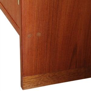 Rare Pair of Danish Teak Storage / Display Cabinets by Hans Wegner