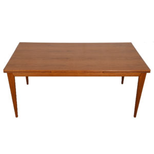 Colossal Danish Modern Niels Moller Teak Expanding Dining Table