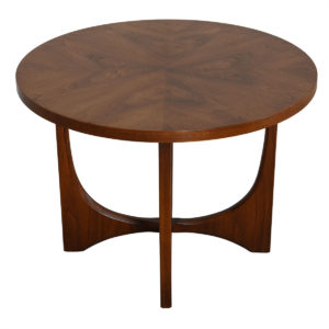 Adrian Pearsall Style Mid Century Modern Walnut Coffee Table