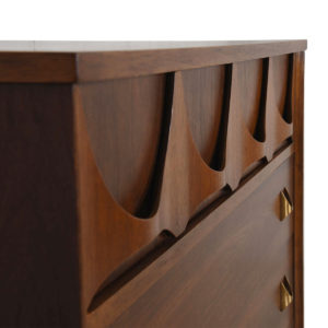 Broyhill Brasilia Walnut Dresser / Chest of Drawers
