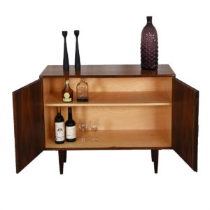 Borge Mogensen Danish Rosewood Locking Door Cabinet / Bar
