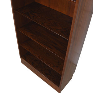 Slim & Tall Danish Modern Rosewood Adjustable Bookcase