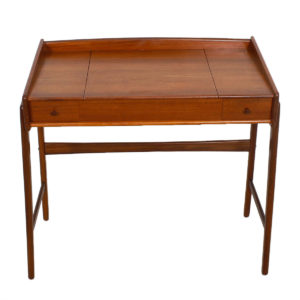 Rare 1950's Danish Teak Vanity / Writing Desk by Madsen