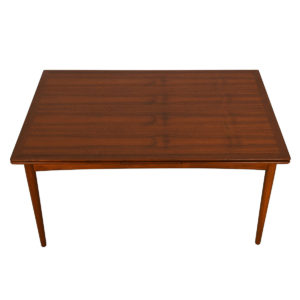 Koefoeds Hornslett Mid-Sized Danish Teak Expanding Dining Table