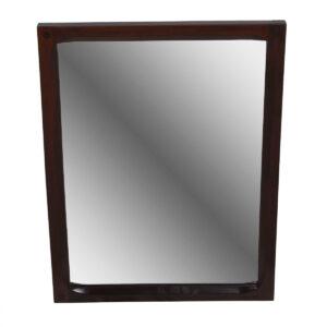 Compact Rectangular Aksel Kjersgaard Palisander / Rosewood Mirror – Model No. 161