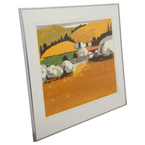 Vibrantly Colored Pastoral Scene – Signed & Numbered
