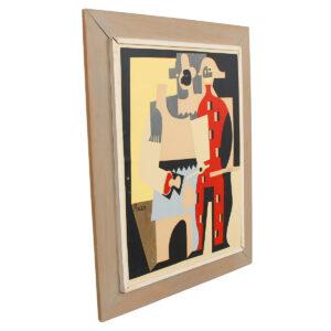 Pablo Picasso Primitivist Artwork